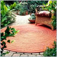 8 round outdoor rug