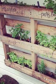 outdoor herb garden. Outdoor Herb Garden Vertical Crates