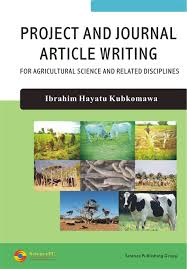 Science Projects Reports Sample Project And Journal Article Writing For Agricultural Science And