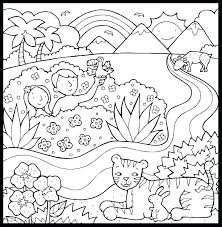 This coloring page belongs to these categories: Creation Coloring Pages Best Coloring Pages For Kids