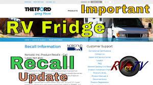 Rv Fridge Recall Update You Tube Live Desert Flowers Rv Lifestyle