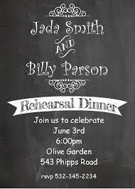 rehearsal dinner invitations new spring  chalkboard rehearsal dinner party invitations