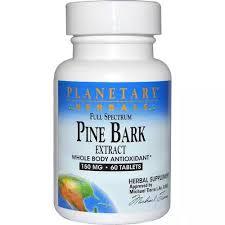 Planetary Herbals <b>Pine</b> Bark Extract <b>Full Spectrum</b>