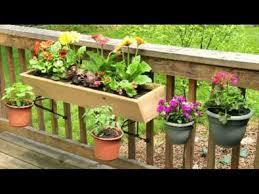 deck railing planter boxes balcony garden box balcony vegetable gardening hanging planters