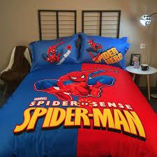 marvel super hero spider man bedding
