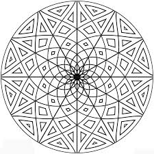 Symmetrical Coloring Pages Coloring Pages For Kids Mandala Tattoo