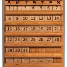 perpetual calendar number tiles amishworks com