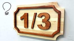 raised house numbers large unfinished wooden letters wooden house how make house number raised shapes the