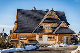 custom log house