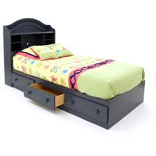 south shore summer breeze mate's bed with storage multiple