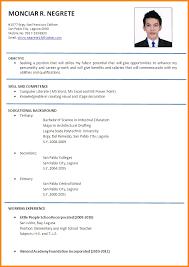 Sample Resume For Teacher Applicant Resume Teacher Examples Sample