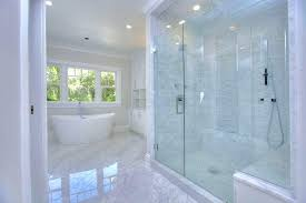 traditional marble bathrooms. Marble Bathrooms Traditional Master Bathroom With Crown Molding High Ceiling Tiled Photos . O