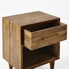 reclaimed wood nightstand. Scroll To Next Item Reclaimed Wood Nightstand