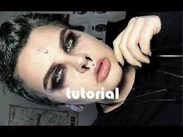 easy men s goth makeup tutorial you