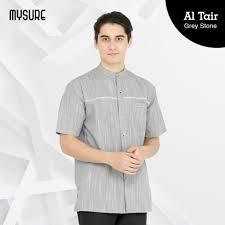 Pembayaran mudah, pengiriman cepat & bisa cicil 0%. Model Baju Koko Terbaru 2021 Keren Altair Grey Stone