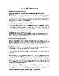Format Paper Mla Format Of A Essay Www Moviemaker Com