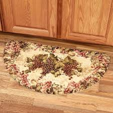 orange kitchen rugs french country