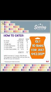 Scentsy Shipping Chart 10 Bar Special In 2019 Scentsy Scentsy Independent Consultant