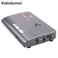 Kebidumei Terestrial Digital HD 1080P Dvb t/T2 TV Box Vga AV CVBS Tuner  Receiver VGA DVB T2 TV Box dengan Remote Control Terbaru Set-top Box