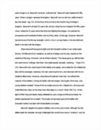 beowulf essay ~final draft allison zolnowsky mrs kuryllo image of page 2