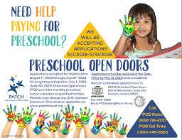 David Y. Ige | Preschool Open Doors Now Accepting Applications