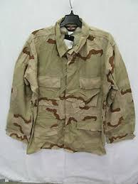 Tru Spec Jacket Sizing Chart Details About Tru Spec Us Military 3 Color Desert Camo Bdu Jacket Size Large Long Eb0602
