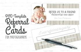 Photography Coupon Template Referral Templates Free Premium