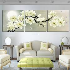 <b>3Pcs</b>/Set Unframed <b>Painting</b> Wall Decor <b>Art Modern White</b> Beautiful ...