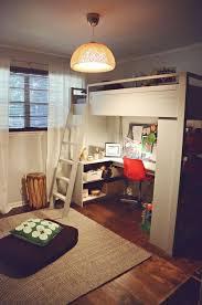 bunk bed with office underneath. Mixing Work With Pleasure \u2013 Loft Beds Desks Underneath Bunk Bed With Office Underneath D