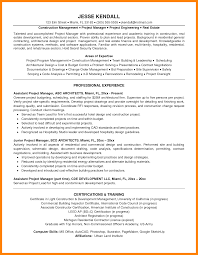 Project Manager Resume Summary Examples Hospitality Management Resumeples Shocking Project Manager Example 42
