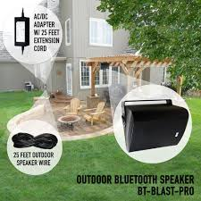 sound appeal bluetooth 6 5 indoor outdoor patio speakers 2 pack