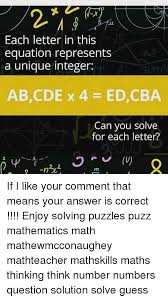 memes mathematics and each letter in this equation represents a unique integer