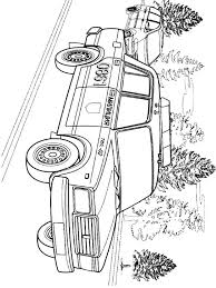 Free Printable Police Car Coloring Pages For Kids