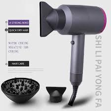 <b>2000W</b> Professional Salon Hair Dryer 2 in 1 <b>Hot</b> Air Dryer Brush Hair ...