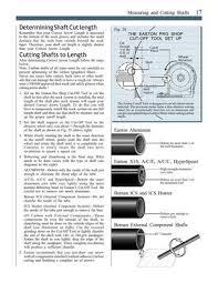 Easton Apollo Carbon Arrow Shaft Specific Easton Arrow Size
