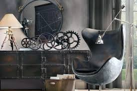 Vintage Industrial Gears Man Cave Decor Ideas