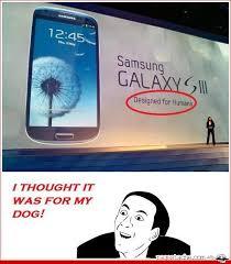 Galaxy S3 Troll! - Ragestache via Relatably.com