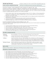 Project Administrator Resume Example Best Of System Administrator Resume Resume Format For System Administrator