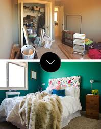 Before U0026 After: A Colorful Guest Bedroom Makeover In The Midwest | Design* Sponge