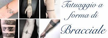 Tatuaggio Bracciale Uomo E Donna Idee Scritte Foto Disegni Per