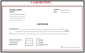 Payment Receipt Format In Word Free Printable Cash Payment Receipt Template With Red Outline vlashed 14