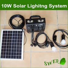 Solar Homelighting System By SuKamSolar Energy Lighting Systems