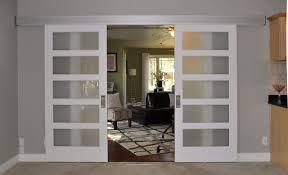 Johnson Hardware 200WM Separating Two Living Rooms (Interior Barn Door)  contemporary