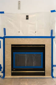 okay so the key to painting a marble fireplace facing is the high heat paint technically you don t need the high heat paint if you re just painting the