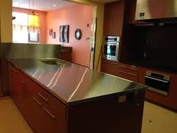custom stainless steel countertops michigan