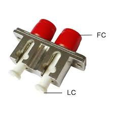 Fiber Optic Hybrid <b>Adapter</b> FC-LC/LC-FC <b>Adapter Coupler Duplex</b> ...