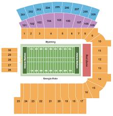 University Of Wyoming Football Stadium Seating Chart Arizona Stadium Seating Chart Tucson