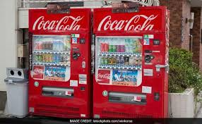 Coke Zero Vending Machine Interesting CocaCola Number 48 In Japan With Drinks Galore But Not Coke