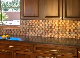 copper glass tile backsplash kitchen copper tiles this would make