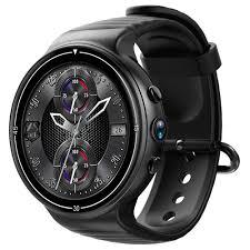 Makibes MK02 4G Smartwatch Phone Android 7.0 MTK6737 Quad Core 1G RAM 16G ROM GPS WiFi Black